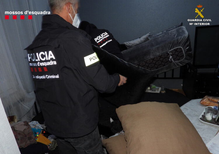 L'operació policial a Balaguer contra 3 clans familiars acaba amb uns 88 quilos de droga intervinguts i 29 detinguts