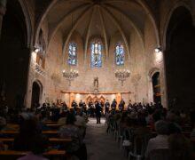 """El Cor de l'Auditori Enric Granados de Lleida porta el recital """"In Memoriam"""" a Balaguer en el marc del Juliol de Música i Poesia"""