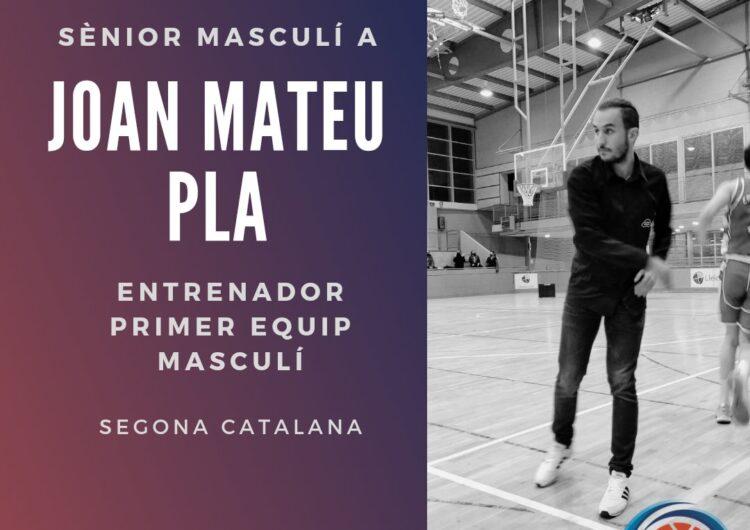 El C.B. Balaguer anuncia a Joan Mateu com a entrenador del Sènior masculí