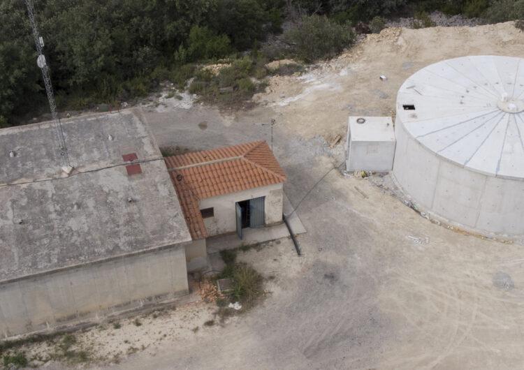 L'Ajuntament Àger construeix un nou dipòsit d'aigua a Agulló
