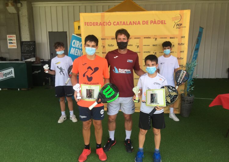 Victòria dels balaguerins Íker Castillo i Gerard Navas al III Súper Gran Slam Tenis Despí
