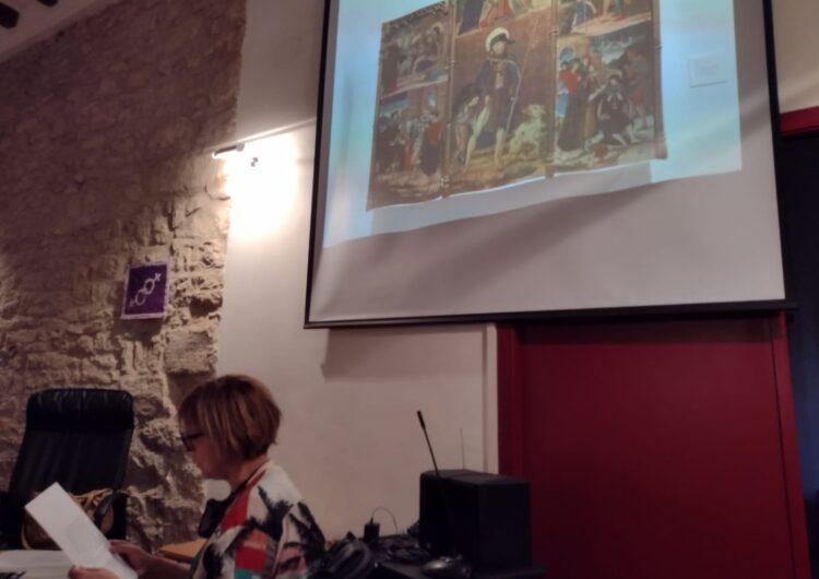 Àger reviu el passat medieval del municipi amb una conferència sobre el retaule de Colobor