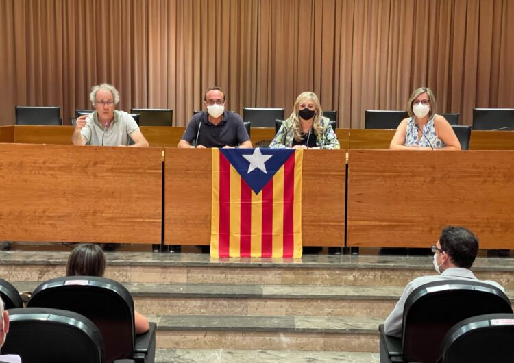 Josep Rull va presentar el dimecres a Balaguer el seu llibre '1 dia d'octubre i 2 poemes'