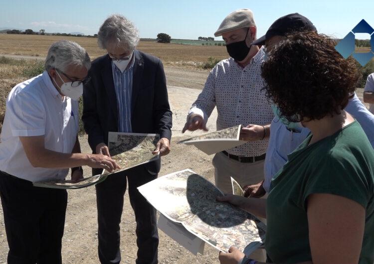 Liciten les darreres obres del sector C del regadiu d'Algerri-Balaguer