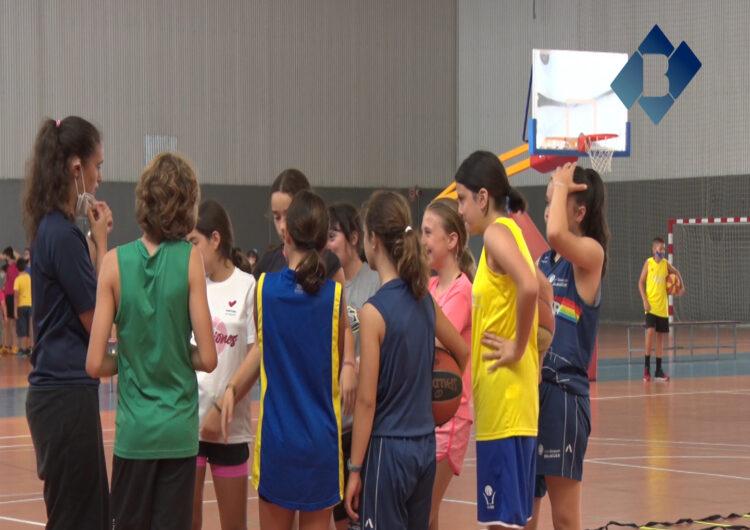 Comença el campus de bàsquet a Balaguer