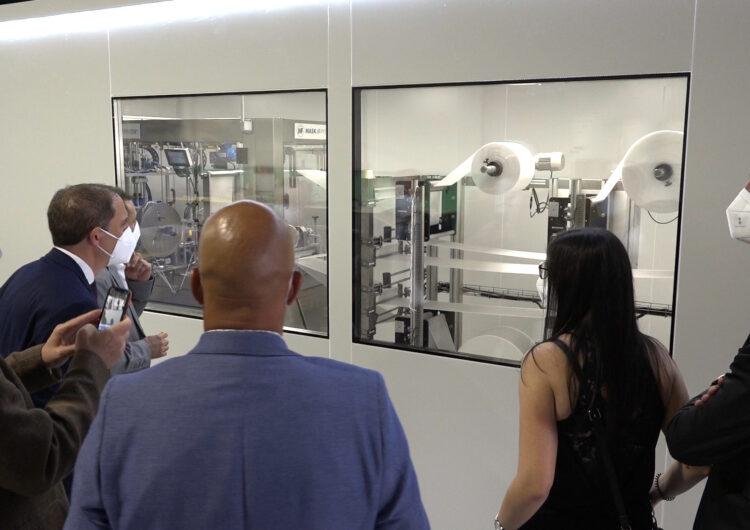 Una empresa de Balaguer comença a fabricar mascaretes FFP2