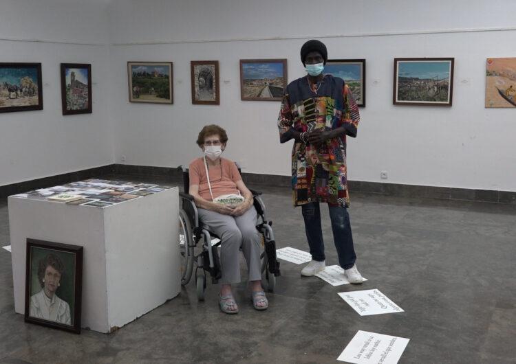 Una exposició de pintura mostra el vincle entre dos artistes de la Noguera i el Senegal