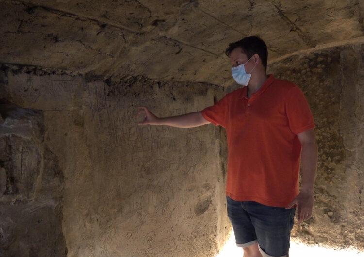 Finalitza la restauració del calabós de l'antic Palau dels ducs d'Alba amb l'aparició de nous gravats