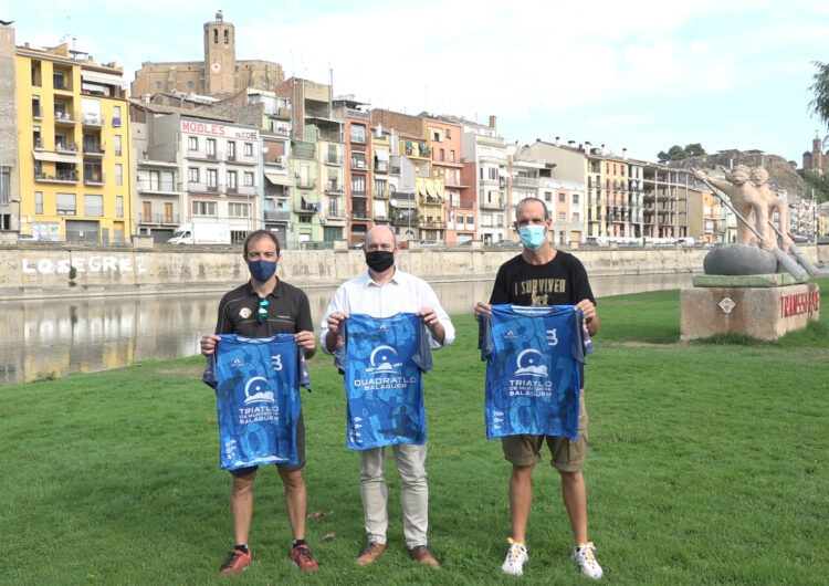 Balaguer celebra dissabte el 1r Triatló Jove amb més d'una seixantena de participants