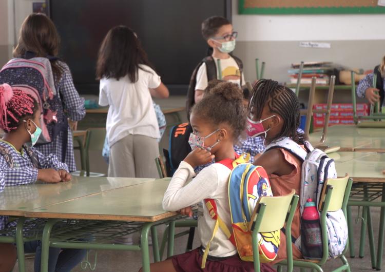 Primer dia del curs escolar 2021-2022