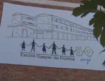 L'Escola Gaspar de Portolà presenta les activitats pel 50è aniversari del centre