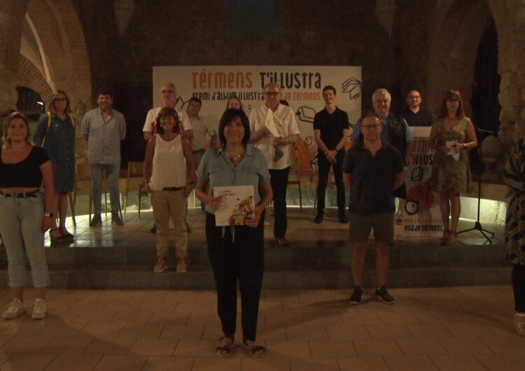 Anna Font presenta 'El garrafó estrena barret' obra guanyadora del II Àlbum il•lustrat vila de Térmens
