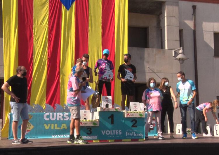 Núria Tilló i Lamin Bah guanyen la 35a edició de La Cursa de la Diada de Térmens