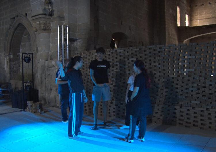 L'espectacle LÓNG escalfa motors a Balaguer abans de la seva estrena oficial a Fira Tàrrega