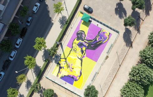 Connecti.cat: Balaguer immortalitza la figura de Kobe Bryant