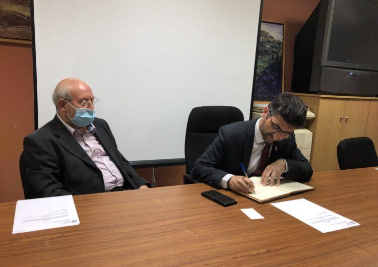 L'alcalde Josep Regué plega després de deu anys i Jaume Cuñat pren el relleu a l'alcaldia de Cubells