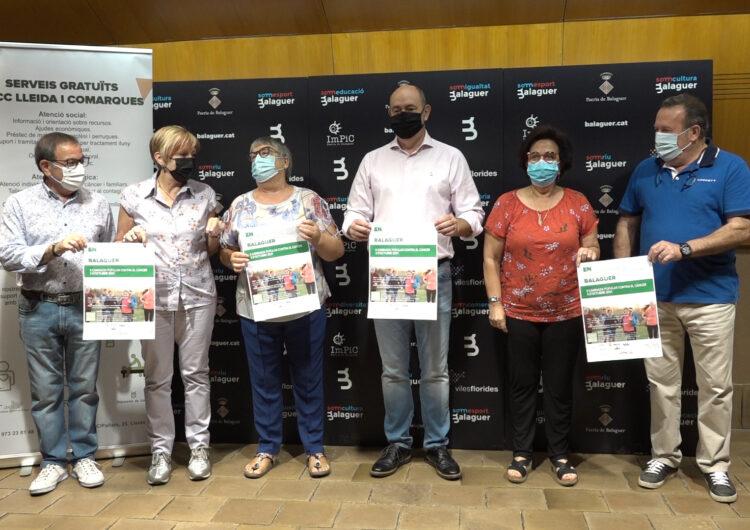 Crida a la participació ciutadana en la II Caminada popular contra el càncer a Balaguer