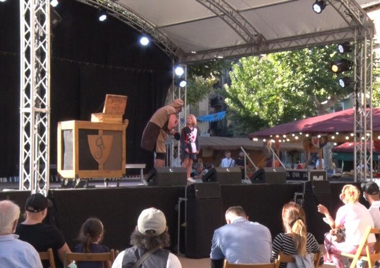 L'Harpia de Balaguer clou amb uns 28.000 visitants en tres dies