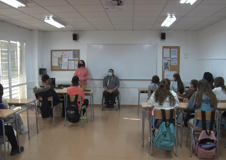 'A la Noguera posem el fre', els nous tallers de prevenció d'accidents als instituts de Balaguer