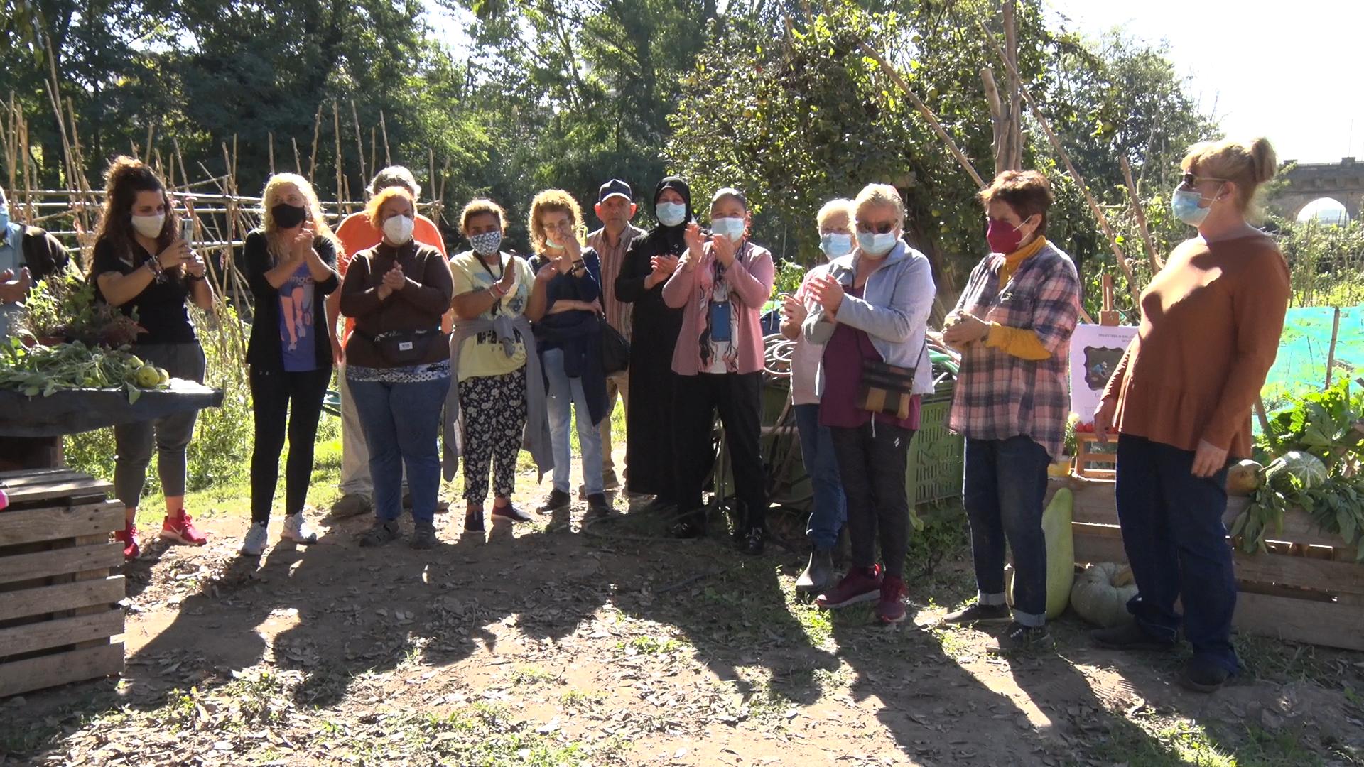 La trobada 'Les dones i els Horts Comunitaris', en motiu del Dia Internacional de la Dona Rural