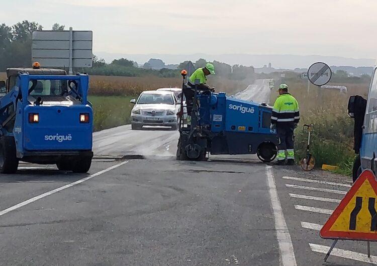 L'Ajuntament de Térmens inicia les obres d'arranjament del camí que duu a Bellvís
