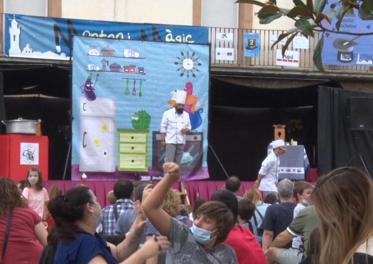 Montgai ha acollit el 13è 'Montgai Màgic' amb més de 70 espectacles de mags d'arreu del món