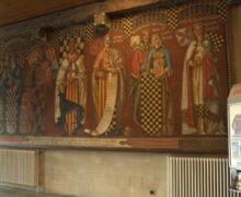 Balaguer restaura el mural del vestíbul de la casa de la Paeria