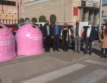 El reciclatges de la Noguera es tenyeix de rosa 'per elles'